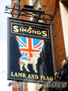 Picture of Lamb & Flag
