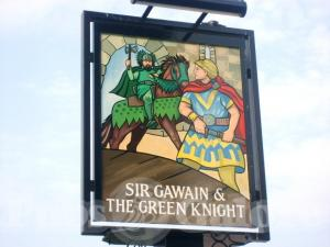 Picture of Sir Gawain & The Green Knight