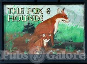 Picture of Fox and Hounds
